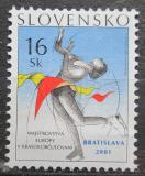 Poštovní známka Slovensko 2001 ME v krasobruslení Mi# 387