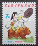 Poštovní známka Slovensko 2003 Maťko a Kubko Mi# 457