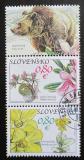 Poštovní známky Slovensko 2010 Flóra a fauna Muráně Mi# 644-45