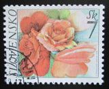 Poštovní známka Slovensko 2003 Růže Mi# 446