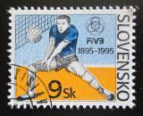 Poštovní známka Slovensko 1995 Volejbal Mi# 235