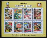 Poštovní známky Guyana 1993 Disney, Kačer Donald Mi# 4440-47