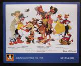 Poštovní známka Guyana 1993 Disney, Kačer Donald Mi# Block 367 Kat 8.50€