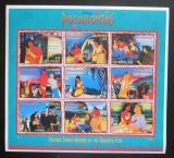 Poštovní známky Guyana 1995 Disney, Pocahontas Mi# 5281-89