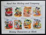 Poštovní známky Guyana 1995 Disney, Mickey Mouse Mi# 5081-88