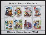 Poštovní známky Guyana 1995 Disney, Mickey Mouse Mi# 5097-5104