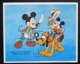 Poštovní známka Guyana 1995 Disney, Mickey Mouse Mi# Block 453