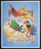 Poštovní známka Guyana 1996 Disney, Mickey Mouse Mi# Block 515