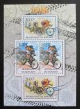 Poštovní známky Burundi 2012 Cyklistika DELUXE Mi# 2461,2464 Kat 10€