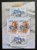 Poštovní známky Burundi 2012 Cyklistika DELUXE Mi# 2462-63 Kat 10€