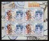 Poštovní známky Burundi 2012 Cyklistika DELUXE Mi# 2465 Bogen Kat 9€
