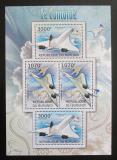 Poštovní známky Burundi 2012 Concorde DELUXE Mi# 2476,2478 Bogen Kat 10€
