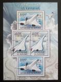 Poštovní známky Burundi 2012 Concorde DELUXE Mi# 2477-78 Bogen Kat 10€