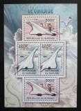Poštovní známky Burundi 2012 Concorde DELUXE Mi# 2477,2479 Bogen Kat 10€