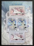 Poštovní známky Burundi 2012 Concorde DELUXE Mi# 2476,2479 Bogen Kat 10€