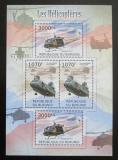 Poštovní známky Burundi 2012 Helikoptéry DELUXE Mi# 2472-73 Bogen Kat 10€