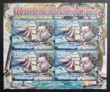 Poštovní známky Burundi 2012 Amerigo Vespucci DELUXE Mi# 2400 Bogen Kat 9€