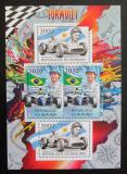 Poštovní známky Burundi 2012 Formule 1 DELUXE Mi# 2466,2469 Bogen Kat 10€