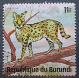 Poštovní známka Burundi 1975 Serval Mi# 1172