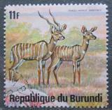 Poštovní známka Burundi 1975 Kudu malý Mi# 1170