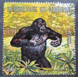 Poštovní známka Burundi 1971 Gorila západní Mi# 742