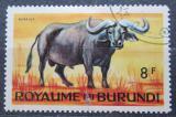 Poštovní známka Burundi 1964 Buvol africký Mi# 96