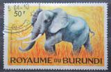 Poštovní známka Burundi 1964 Slon africký Mi# 100