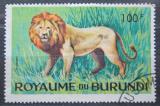 Poštovní známka Burundi 1964 Lev Mi# 101