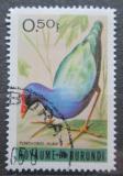 Poštovní známka Burundi 1965 Porphyrio alba Mi# 143