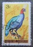 Poštovní známka Burundi 1965 Páv konžský Mi# 147