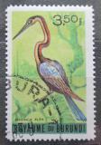 Poštovní známka Burundi 1965 Anhinga africká Mi# 148