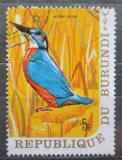 Poštovní známka Burundi 1970 Ledňáček říční Mi# 640