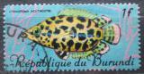 Poštovní známka Burundi 1967 Ostnovec leopardí Mi# 320
