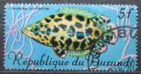 Poštovní známka Burundi 1967 Ostnovec leopardí Mi# 326