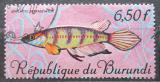 Poštovní známka Burundi 1967 Epiplatys sexfasciatus Mi# 327