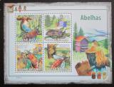 Poštovní známky Guinea-Bissau 2009 Včely a úly Mi# 4131-34 Kat 9.50€