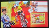 Poštovní známka Guinea 2006 Cyklistika, Miguel Induráin DELUXE Mi# 4466 Block