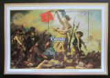 Poštovní známka Rwanda 1982 Umění, Delacroix Mi# Block 98