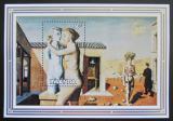 Poštovní známka Rwanda 1982 Umění, P. Delvaux Mi# Block 99