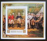 Poštovní známka Manáma 1971 Generál Burgoyne neperf. Mi# Block 158 B Kat 15€