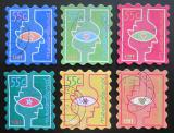 Poštovní známky Nizozemí 1997 Vánoce Mi# 1635-40