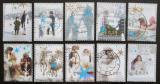 Poštovní známky Nizozemí 2004 Vánoce Mi# 2264-73