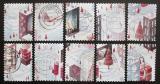 Poštovní známky Nizozemí 2008 Vánoce Mi# 2621-30