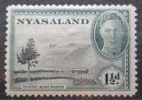 Poštovní známka Ňasko, Malawi 1945 Čajová plantáž Mi# 72