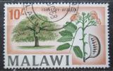 Poštovní známka Malawi 1964 Afzelia quanzensis Mi# 13