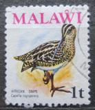 Poštovní známka Malawi 1975 Bekasina africká Mi# 229