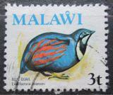 Poštovní známka Malawi 1975 Křepelka Adansonova  Mi# 231