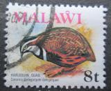 Poštovní známka Malawi 1975 Křepelka harlekýn Mi# 233
