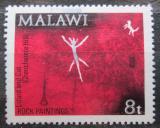Poštovní známka Malawi 1972 Skalní malba Mi# 183