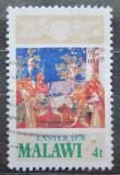 Poštovní známka Malawi 1978 Velikonoce, umění Mi# 293